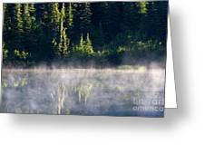 Morning Mist Greeting Card by Mike  Dawson