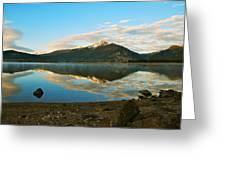 Morning Reflections Greeting Card by Bob Berwyn