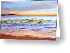 Morning Serenity-phillip Island Greeting Card by Nadine Kelly