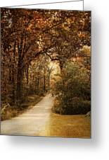 Morning Walk Greeting Card by Jai Johnson