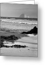 Morro Bay Shoreline V Greeting Card by Steven Ainsworth
