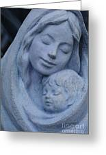 Mother And Child Greeting Card by Susanne Van Hulst