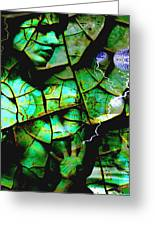 Mother Earth Greeting Card by Yvon van der Wijk