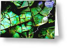 Mother Earth Greeting Card by Yvon van der Wijk