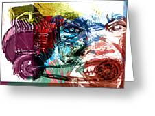 Motor Mouth Greeting Card by James Thomas