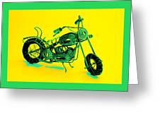 Motorbike 1b Greeting Card by Mauro Celotti
