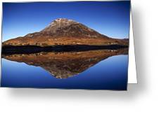 Mount Errigal, Lough Nacung, Dunlewy Greeting Card by Gareth McCormack