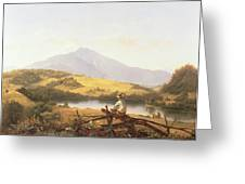 Mount Mansfield Greeting Card by Jerome Thompson