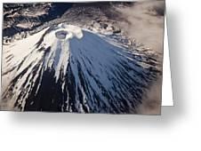 Mount Ngauruhoe Tongariro Np New Zealand Greeting Card by Colin Monteath