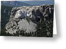 Mount Rushmore, 2009 Greeting Card by Granger