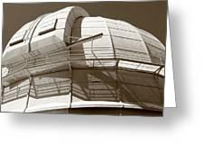Mount Wilson Observatory Greeting Card by Lorraine Devon Wilke