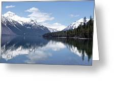 Mountain Reflections Greeting Card by Ron Mroski