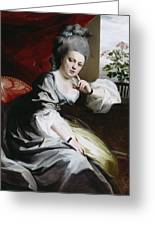 Mrs Clark Gayton Greeting Card by John Singleton Copley