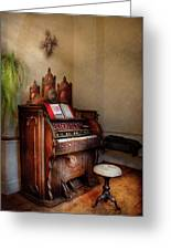Music - Organ - Hear The Joy  Greeting Card by Mike Savad