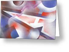 Music Of The Spheres Greeting Card by Hakon Soreide