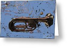 Musical Noise Greeting Card by Al Bourassa