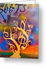 Musical Roots Greeting Card by Tony B Conscious