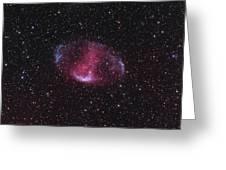 Mwp1, An Ancient Bipolar Planetary Greeting Card by Don Goldman