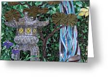 My Dream Goes Wandering Greeting Card by Barbara Benson Keith