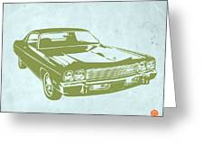 My Favorite Car 5 Greeting Card by Naxart Studio
