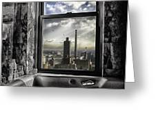 My favorite channel is Manhattan View Greeting Card by Madeline Ellis