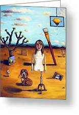 My Surreal Life Greeting Card by Leah Saulnier The Painting Maniac