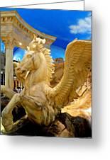 My Vegas Caesars 13 Greeting Card by Randall Weidner