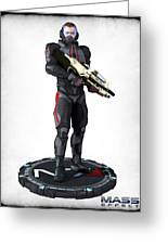 N7 Soldier V2 Greeting Card by Frederico Borges