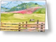 Napa Valley Greeting Card by Robert Hooper