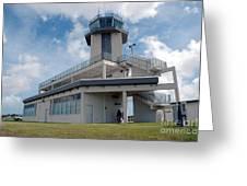 Nasa Air Traffic Control Tower Greeting Card by NASA
