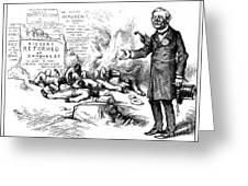 Nast: Tilden Cartoon, 1876 Greeting Card by Granger