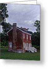Natchez Trace Gordon House - 3 Greeting Card by Randy Muir