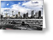 Naval Security Greeting Card by Douglas Barnard