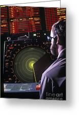 Navy Petty Officer Students Practice Greeting Card by Michael Wood