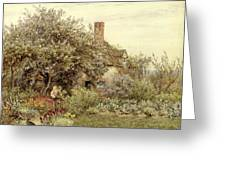 Near Hambledon Greeting Card by Helen Allingham