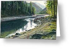 Near Horse Creek Greeting Card by Steve Spencer