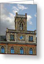 Neo-gothic Weimarer City Hall Greeting Card by Christine Till