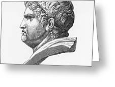 Nero (37-68 A.d.) Greeting Card by Granger