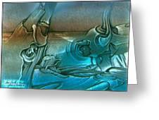 New Earth1 1992 Greeting Card by Glenn Bautista