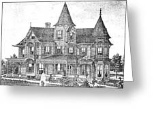 New Jersey: Atwood House Greeting Card by Granger