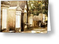 New Orleans Lafayette Cemetery No.1 Greeting Card by Kim Fearheiley