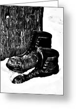 New Shoe Drop Off Greeting Card by Jerry Cordeiro