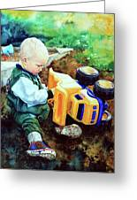New Truck Greeting Card by Hanne Lore Koehler