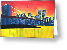 New York State Of Mind Greeting Card by Tiffany King