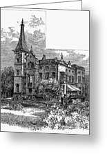 Newark: Kearny Mansion Greeting Card by Granger