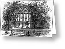 Newark: Mansion, 1876 Greeting Card by Granger