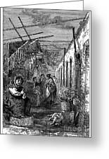 Newark: Market, 1876 Greeting Card by Granger