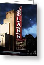 Nightfall At The Lark - Larkspur California - 5d18482 Greeting Card by Wingsdomain Art and Photography