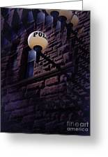Nightly Incarcerations Greeting Card by The Stone Age