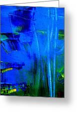 No Art Just Paint Greeting Card by Allen n Lehman
